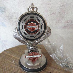 NEW HARLEY DAVIDSON POCKET WATCH AND STAND 1997